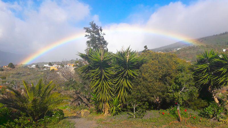 Regenbogen-Klein